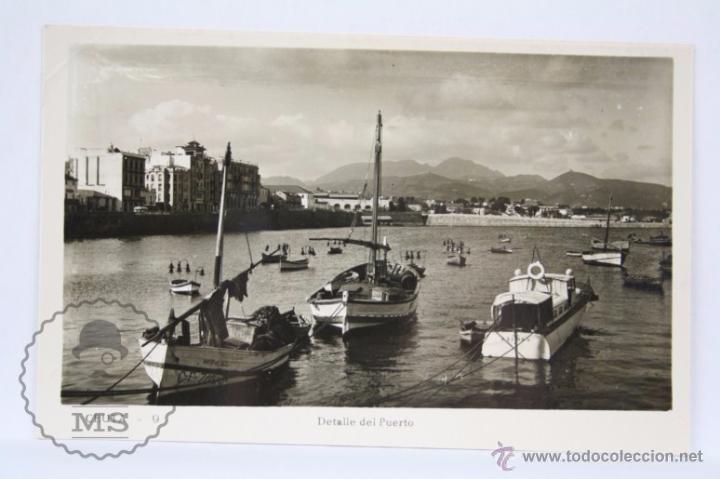 POSTAL FOTOGRÁFICA - 9. CEUTA. DETALLE DEL PUERTO - SIN CIRCULAR (Postales - España - Ceuta Moderna (desde 1940))