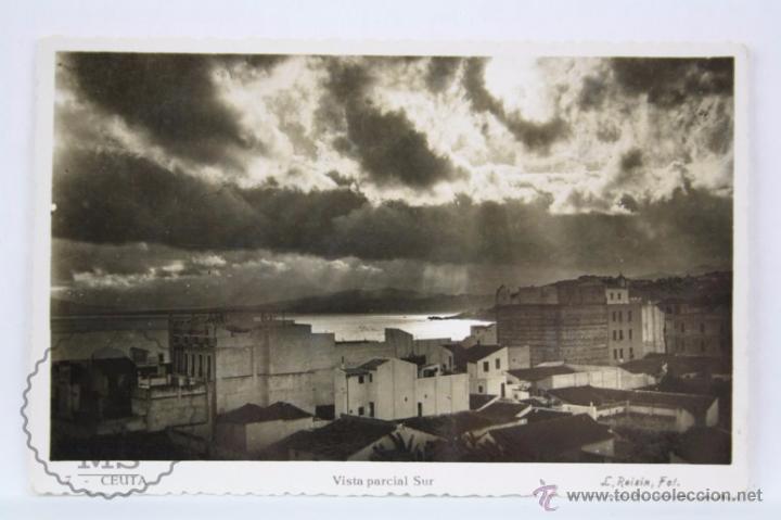 POSTAL FOTOGRÁFICA - 7. CEUTA. VISTA PARCIAL SUR - SIN CIRCULAR (Postales - España - Ceuta Moderna (desde 1940))