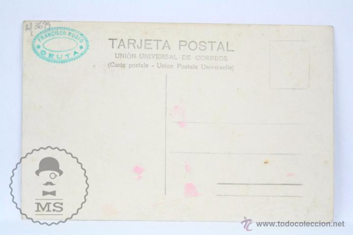 Postales: Postal Fotográfica - Ceuta. Estación del Ferrocarril - Sin Circular - Tren - Foto 2 - 49288869