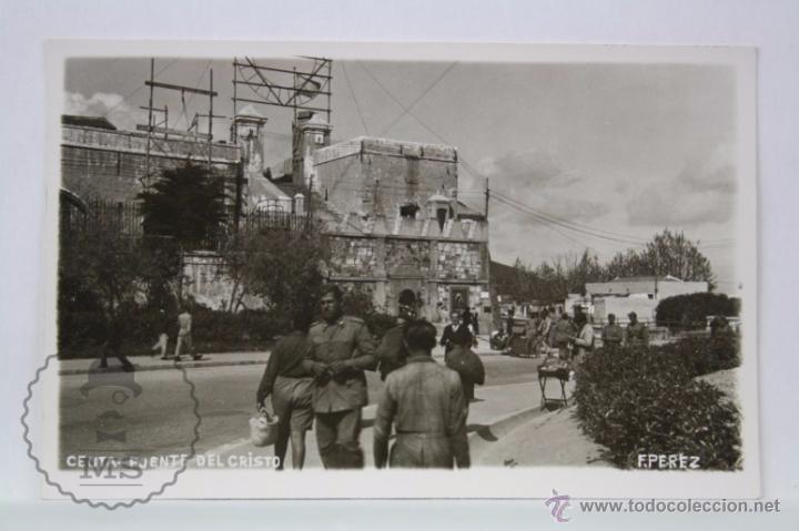 Postales: Postal Fotográfica Animada - Ceuta. Puente del Cristo - Sin Circular - Militar / Militares - Foto 1 - 49299550