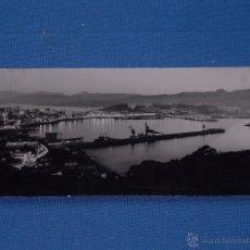 Postales: POSTAL PANORAMICA - CEUTA - VISTA PARCIAL NOCTURNA - CIRCULADA. Lote 49343087