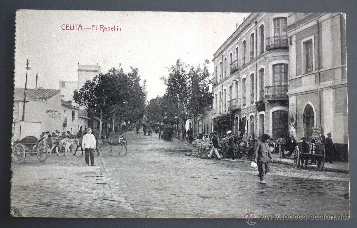 ANTIGUA POSTAL DE CEUTA - EL REBELLÍN A PRINCIPIOS DEL SIGLO XX (Postales - España - Ceuta Antigua (hasta 1939))