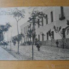 Postales: ANTIGUA POSTAL CEUTA - CUARTEL DEL REBELLIN - REGIMIENTO DEL SERRALLO - ED ARRIBAS. Lote 50299159