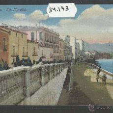 Postales: CEUTA - LA MURALLA - (34173). Lote 50702820