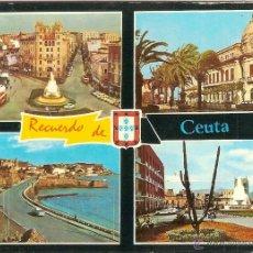 Postales: CEUTA, DIVERSOS ASPECTOS - ED. LIB. GENERAL Nº 53 - ESCRITA. Lote 51024195