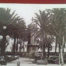 Postales: POSTAL FOTOGRAFICA DE CEUTA, RAPIDE Nº 15, PLAZA DE AFRICA, FECHADOR AMB MARITIMO. Lote 51361672