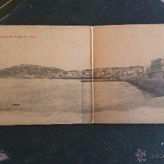 Postales: POSTAL DOBLE DE CEUTA, VISTA PANORAMICA DESDE EL PUERTO NUEVO.. Lote 51361953