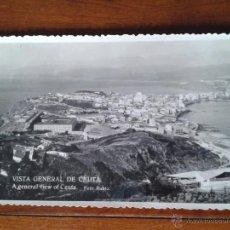 Postales: ANTIGUA POSTAL VISTA GENERAL CEUTA RUBIO. Lote 51797733