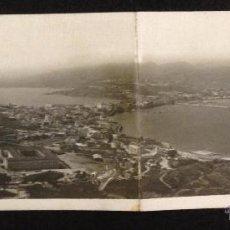 Postales: CEUTA - VISTA GENERAL DESDE EL HACHO - DOBLE - FOTOGRAFICA - (38342) . Lote 52660420