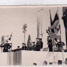 Postales: POSTAL FOTOGRÁFICA ACTO DE FALANGE EN CEUTA. AUXILIO SOCIAL. FALANGE. CEUTA 1945 SIN CIRCULAR.. Lote 52819696