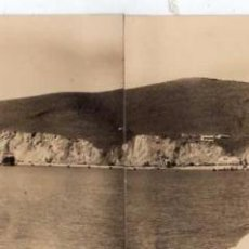 Postales: VILLA SANJURJO. ALHUCEMAS. FOTOGRÁFICA. CASA RUBIO FOTOGRAFÍA CEUTA. POSTAL DOBLE. PUERTO 1930. Lote 52897427