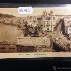 Postales: CEUTA - 1 - VISTA DE LA MARINA - ED· ARRIBAS - CIRCULADA - VER REVERSO - (39133). Lote 53088721