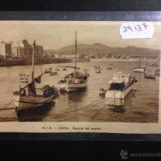 Postales: CEUTA - DETALLE DEL PUERTO - CIRCULADA - VER REVERSO - (39137). Lote 53088828