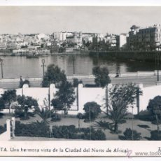 Postales: CEUTA. Nº 60. UNA HERMOSA VISTA DE LA CIUDAD DEL NORTE DE ÁFRICA. FOTO RUBIO. Lote 54159537
