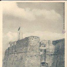 Postales: CEUTA, DETALLE DE LA MURALLA REAL - FOTOTIPIA HAUSER Y MENET Nº 13 - SIN CIRCULAR. Lote 54201755
