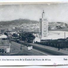 Postales: CEUTA Nº 13. UNA HERMOSA VISTA DE LA CIUDAD DEL NORTE DE ÁFRICA. FOTO RUBIO, NUEVA, SIN CIRCULAR. Lote 54320825