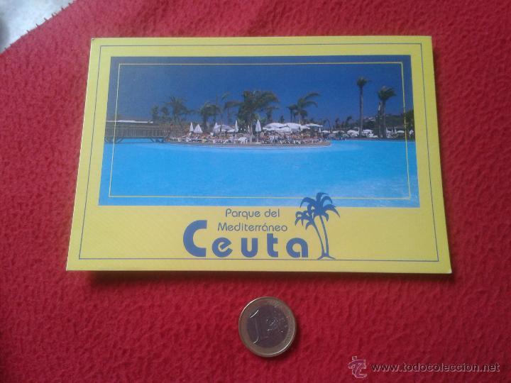 TARJETA POSTAL POST CARD CEUTA ESPAÑA PARQUE MARITIMO DEL MEDITERRANEO VER FOTO Y DESCRIPCION A. ALC (Postales - España - Ceuta Moderna (desde 1940))