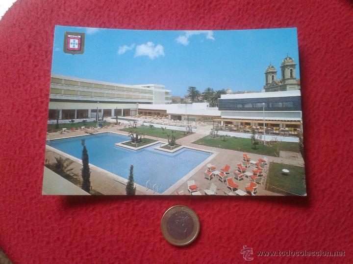 TARJETA POSTAL POST CARD Nº 34 CEUTA GRAN HOTEL LA MURALLA PISCINA PUBLICIDAD JOYERIA LA ESMERALDA V (Postales - España - Ceuta Moderna (desde 1940))