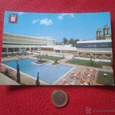 Postales: TARJETA POSTAL POST CARD Nº 34 CEUTA GRAN HOTEL LA MURALLA PISCINA PUBLICIDAD JOYERIA LA ESMERALDA V. Lote 54351341