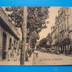 Postales: ANTIGUA POSTAL DE CEUTA - EL REBELLIN - AÑOS 20 - .. R -1554. Lote 54749729