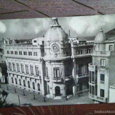 Postales: ANTIGUA POSTAL CEUTA. PALACIO MUNICIPAL. FOTO RUBIO (EN SELLO TAMPÓN). Lote 55098960