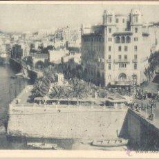Postales: CEUTA, VISTA PARCIAL DE LA CIUDAD Y CALLE DE PABLO IGLESIAS - FOTOTIPIA HAUSER Y MENET Nº 8 - S/C. Lote 55584612