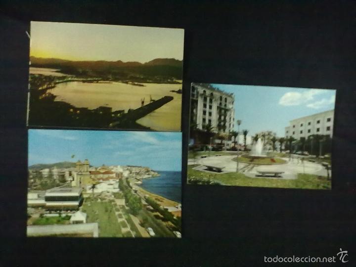 TRES POSTALES DE CEUTA (Postales - España - Ceuta Moderna (desde 1940))