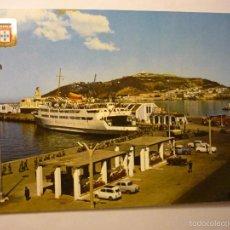 Postales: POSTAL CEUTA VISTA PARCIAL Y TRANSBORDADOR-ESCRITA. Lote 60090403