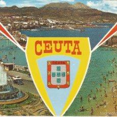 Postales: CEUTA, BELLEZAS DE LA CIUDAD - LUIS CABELLO Nº 61 - ESCRITA. Lote 204143670