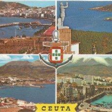 Postales: CEUTA, BELLEZAS DE LA CIUDAD - LUIS CABELLO Nº 60 - SIN CIRCULAR. Lote 204143735