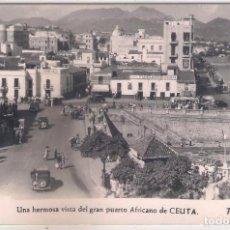 Cartes Postales: POSTAL DE UNA HERMOSA VISTA DEL GRAN PUERTO AFRICANO DE CEUTA .. Lote 63714939