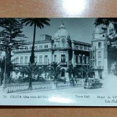 Postales: POSTAL CEUTA. UNA VISTA DEL PALACIO MUNICIPAL. Lote 67669561