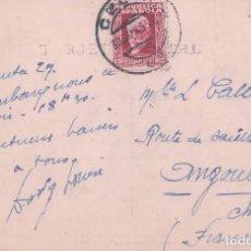 Postales: POSTAL CEUTA- VISTA GENERAL DESDE EL HACHO. 1. GUILERA. CIRCULADA. Lote 67919597