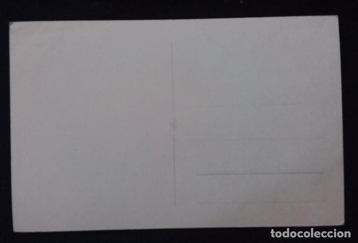 Postales: POSTAL DE CEUTA. N°26 EL ISTMO DE CEUTA ENTRE LAS AGUAS DEL MEDITERRANEO Y DEL ESTRECHO. AÑOS 50. - Foto 2 - 68401849