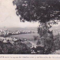 Postales: CEUTA ENTRE LAS AGUAS DEL MEDITERRANEO Y DEL ESTRECHO DE GIBRALTAR POSTAL 23 DE FOTO RUBIO VER DORSO. Lote 68766997