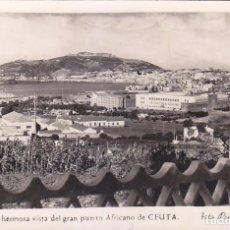 Cartes Postales: CEUTA UNA HERMOSA VISTA DEL GRAN PUERTO AFRICANO DE CEUTA POSTAL 30 DE FOTO RUBIO. VER REVERSO.. Lote 68767233