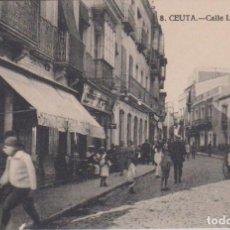Postales: CEUTA - CALLE LUIS DE TORRES. Lote 69565773
