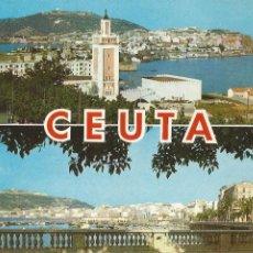 Postales: CEUTA, VISTA GENERAL - CASA RUBIO - CIRCULADA. Lote 204143088