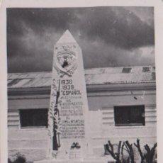 Postales: CEUTA - MONUMENTO A LOS CAIDOS. Lote 73776819