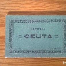 Postales: ROISIN : RECUERDO DE CEUTA (2ª SERIE) - ESTUCHE ACORDEÓN 20 POSTALES. Lote 74227595