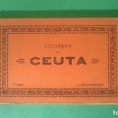 Postales: ROISIN : RECUERDO DE CEUTA - 3ª SERIE - ESTUCHE ACORDEÓN 10 POSTALES. Lote 74240631