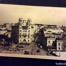Postales: CEUTA. CALLE DE LA LIBERTAD Y VISTA PARCIAL, SIN CIRCULAR, PEQUEÑA DOBLEZ CENTRAL. Lote 74972967
