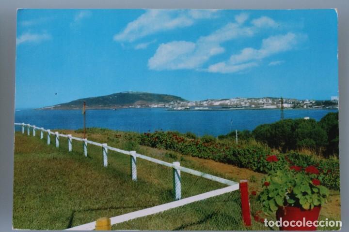 Postales: ANTIGUAS POSTALES CEUTA: PANORAMICA DESDE CAMPO PICHON PUNTA BERMEJA CIUDAD BAHIA – AÑOS 60 - Foto 3 - 79566829