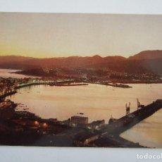 Postales: POSTAL CEUTA - PANORAMICA DEL PUERTO DE NOCHE - 1963 - GENERAL 2 - ESCRITA SIN CIRCULAR. Lote 80595246
