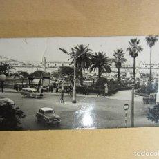 Postales: CEUTA. JARDINES DE SAN SEBASTIÁN. FOTO GARCIA CORTES. 1961. Lote 81018680