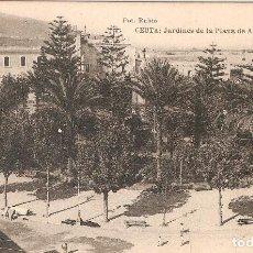 Postales: CÉUTA : JARDINES DE LA PLAZA DE ÁFRICA SIN CIRCULAR. Lote 81053380
