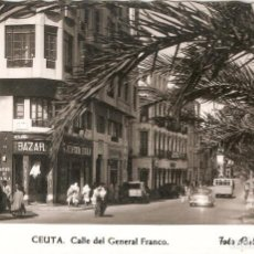 Postales: CEUTA Nº 92 C.G. FRANCO FOTO RUBIO SIN CIRC,. Lote 90347216
