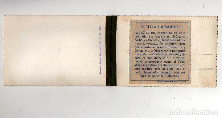 Postales: YEBEL MUSA. ESTRECHO. CEUTA. POSTAL DOBLE RUBIO. 17 X 9 CM - Foto 2 - 90676055