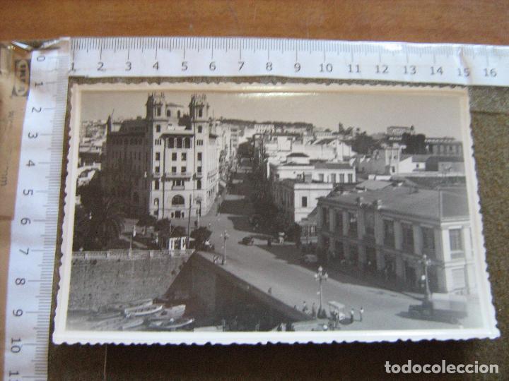 CEUTA - FOTO RUBIO - UNA VISTA HERMOSA DE LA CIUDAD - FOTO QUE SE USABA COMO POSTAL NO TIENE LINEAS (Postales - España - Ceuta Moderna (desde 1940))
