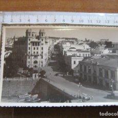 Postales: CEUTA - FOTO RUBIO - UNA VISTA HERMOSA DE LA CIUDAD - FOTO QUE SE USABA COMO POSTAL NO TIENE LINEAS. Lote 91284055